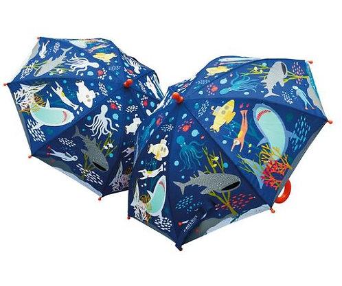 Colour Changing Deep Sea Umbrella
