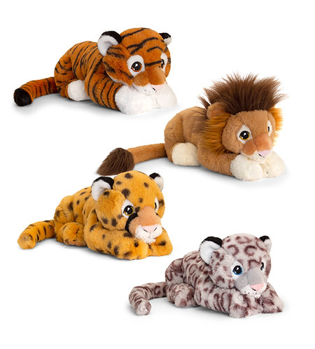 Keeleco Wild Cats 100% Recycled Teddies
