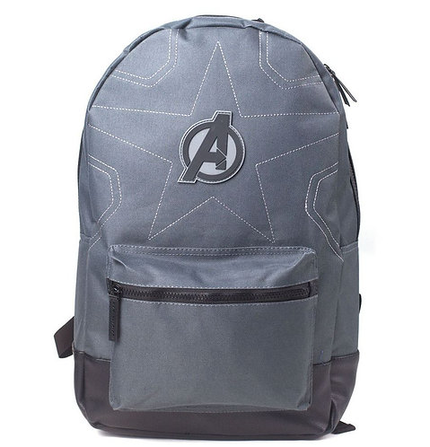 MARVEL COMICS Avengers Infinity War Stitching Grey Backpack