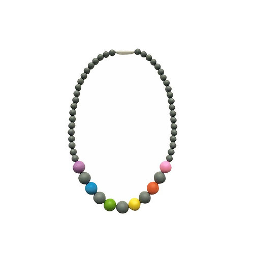 Little Rainbows Silicone Necklace