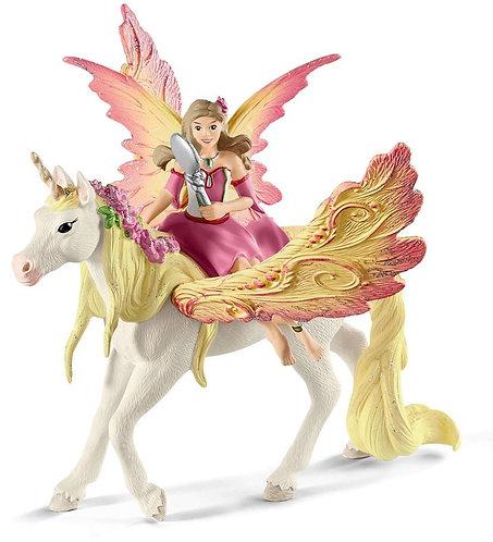 SCHLEICH Bayala Fairy Feya with Pegasus
