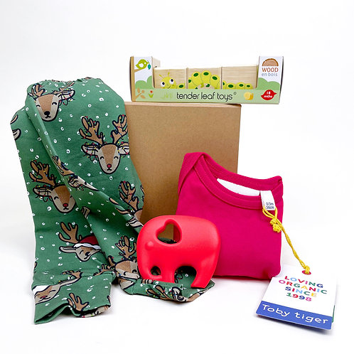 My First Christmas Gift Box - Reindeer