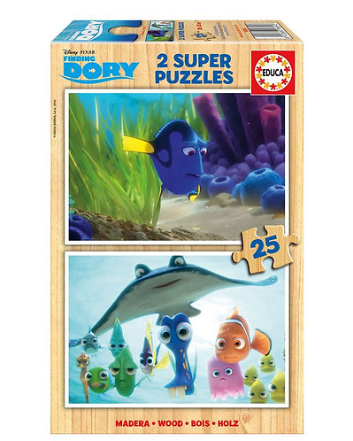 Wooden Finding Dory Puzzles