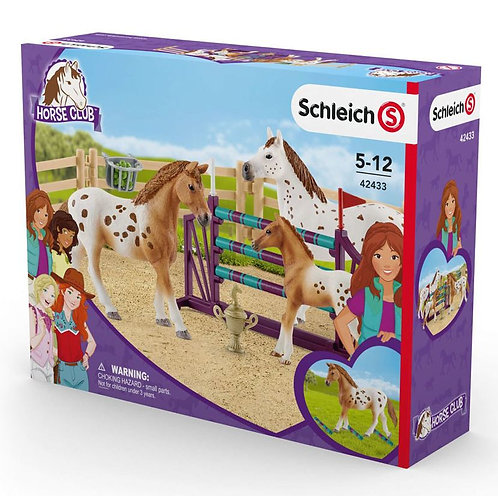 SCHLEICH Horse Club Lisa's Tournament Training Set