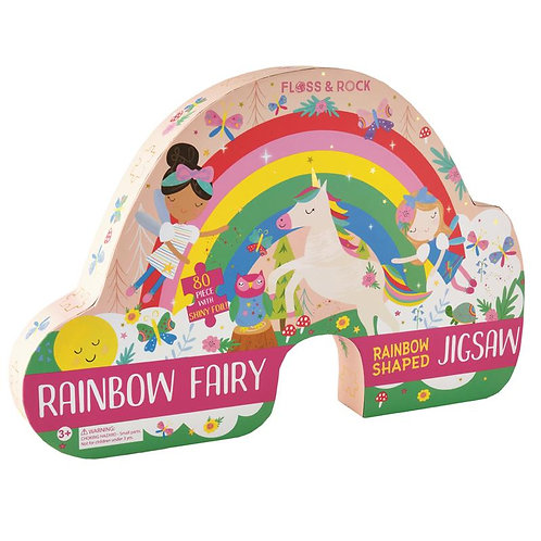 80 Piece Rainbow Shaped Puzzle