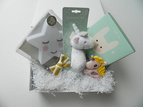 Baby Gift Box (large) - Unicorn Themed
