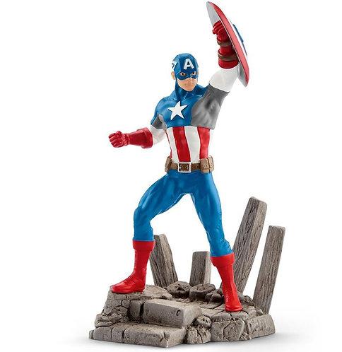 SCHLEICH Marvel Comics: Captain America Figure