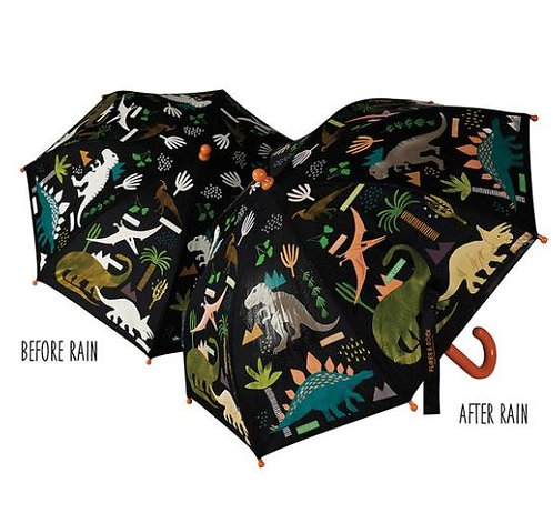 Colour Changing Dinosaur Umbrella