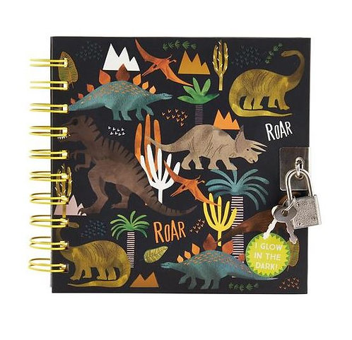 Lockable Glow in the Dark Notebook
