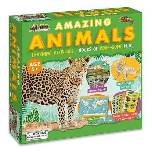 Amazing Animals Activity Set