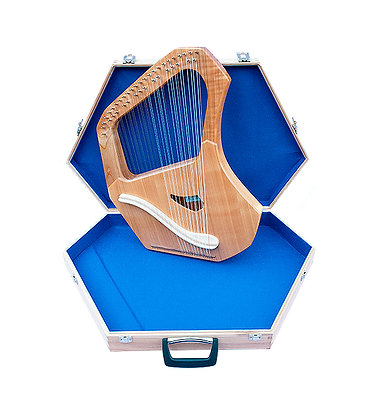 Solo soprano Lyre wooden case