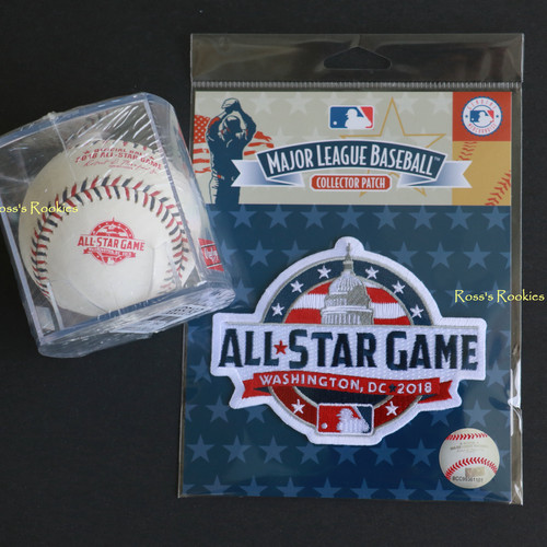 e1c70a40335 2018 ALL STAR GAME BASEBALL   PATCH COMBO