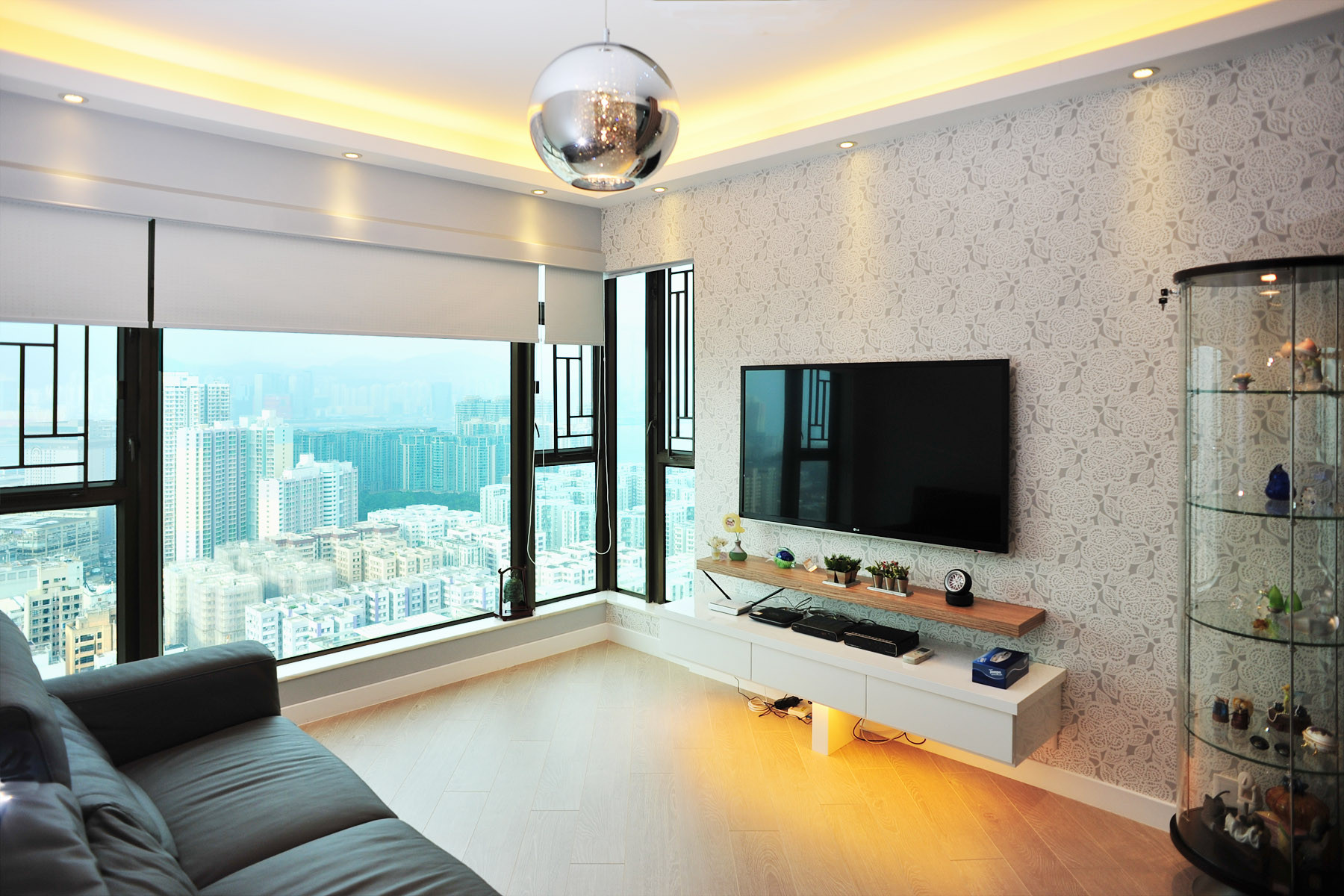 Interior design and space plan