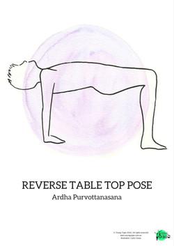 reverse tabletop pose ardha purvottanasana