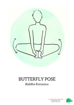 butterfly pose baddhakonasana