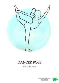 dancer pose natarajasana