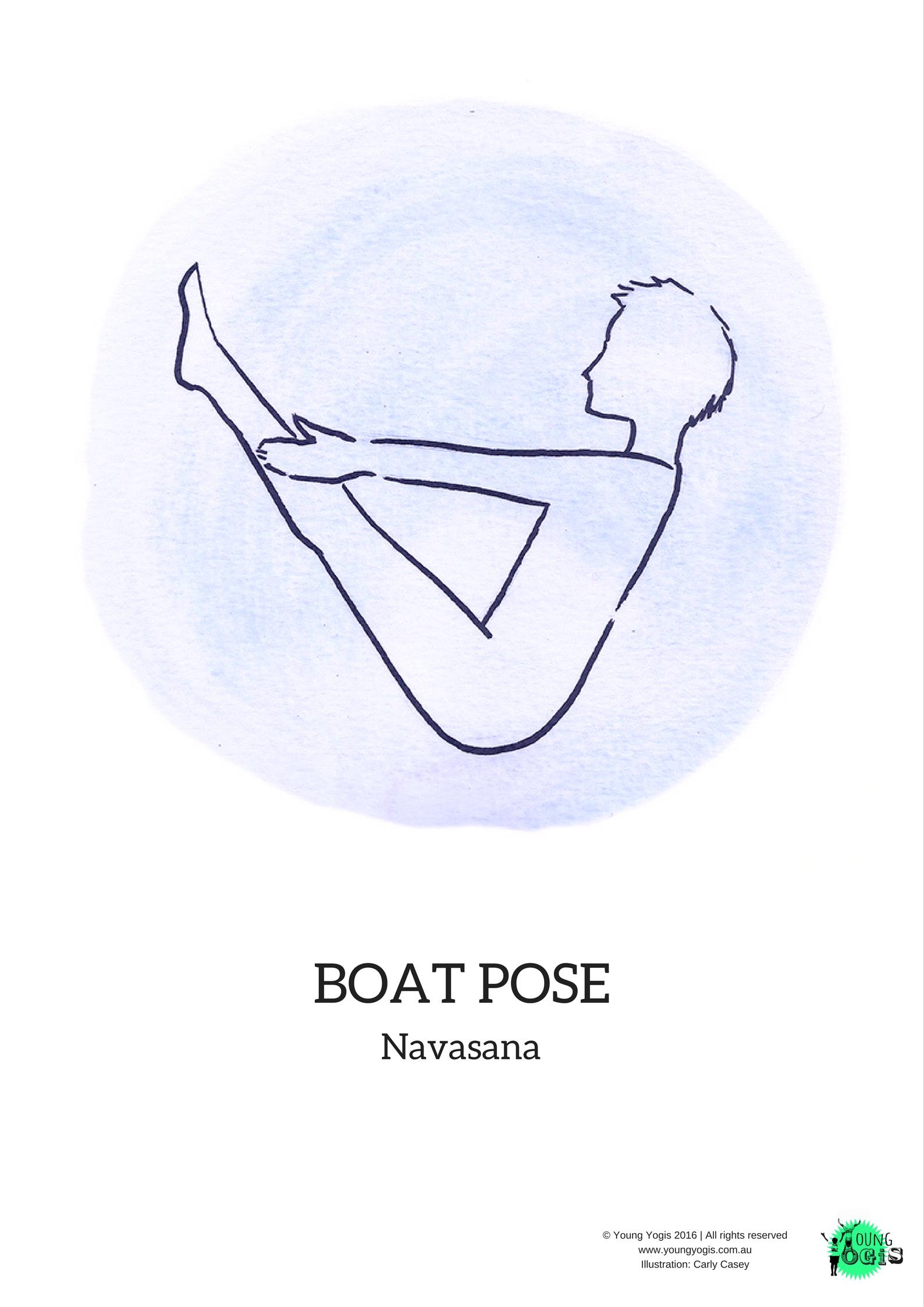 boat pose navasana
