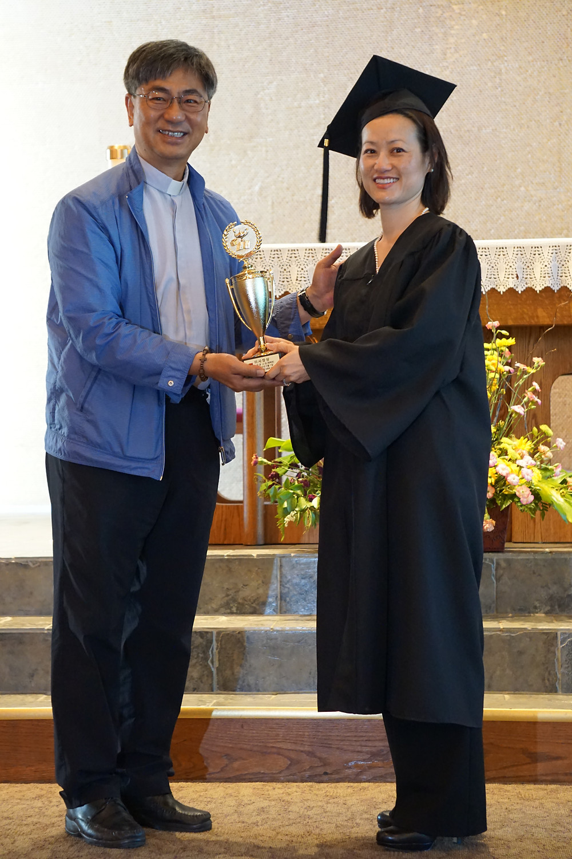 Graduating from Korean School