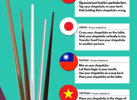 Chop, Chop, Chopstick Etiquette