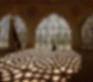 Beten in der Moschee