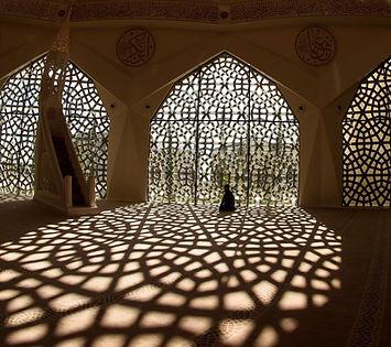 El orar en la mezquita