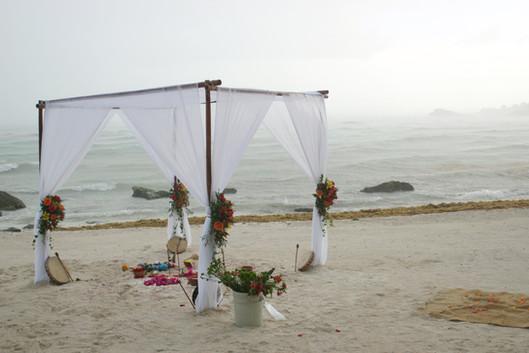 Wedding Altar, Tulum, MX