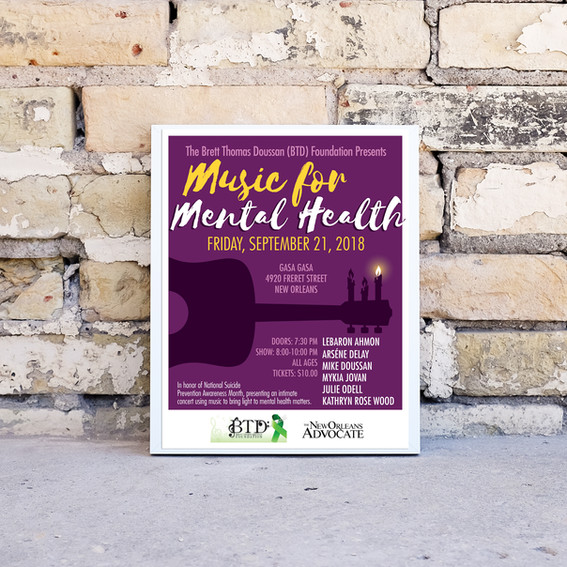Music for Mental Health, New Orleans