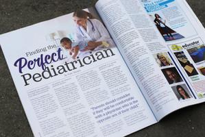 Nola Family Magazine Layout Design