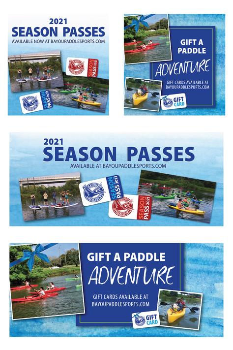 Bayou Paddlesports Social Media Campaign