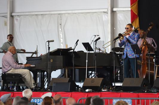 Ellis & Delfeayo Marsalis, Jazz Fest 201