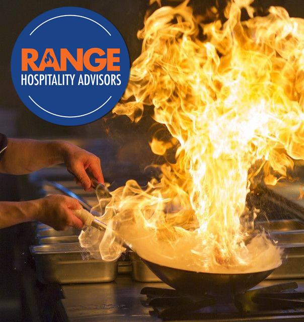 RANGE Hospitality Advisors, Logo Design