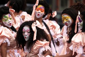 New Orleans Baby Doll Girls, Mardi Gras