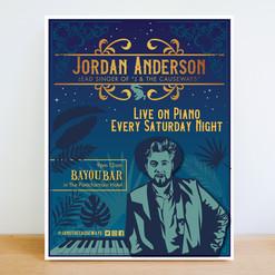 Jordan Anderson Piano, New Orleans