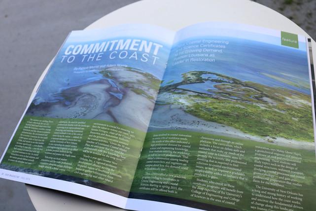 UNO Alumni Magazine, New Orleans