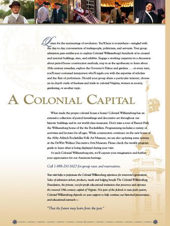 Colonial Williamsburg Foundation, Williamsburg, Va