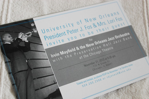 UNO Alumni Music Event, New Orleans