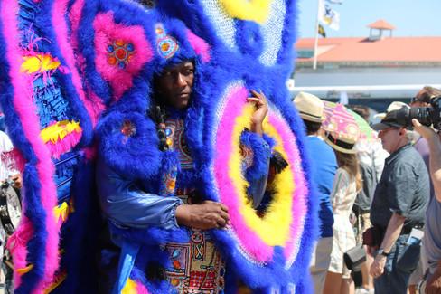 Mardi Gras Indian Parade, Jazz Fest 2019