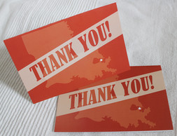 Wedding Thank You Cards, New Orleans