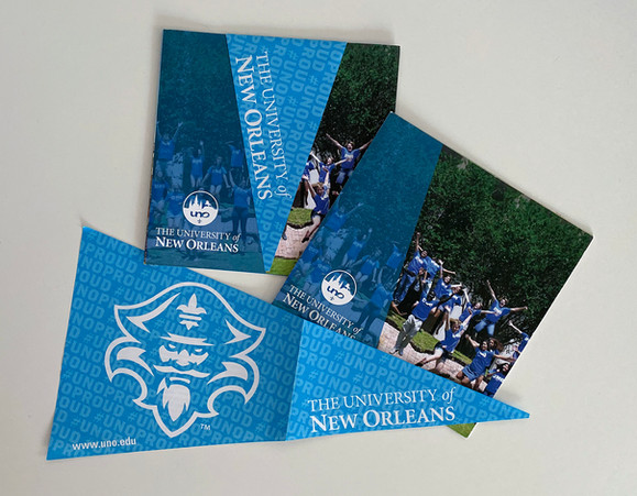University of New Orleans Admissions Department