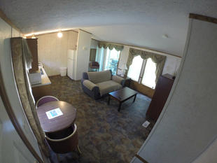 Kinkaid Cabins - Living Room