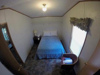 Kinkaid Cabins - Bedroom