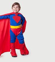 kid superhero costume