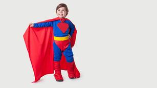 Kind Superhelden-Kostüm