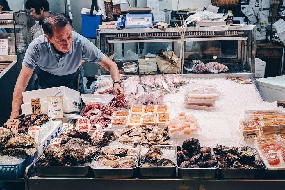 Nishiki Market Vendor