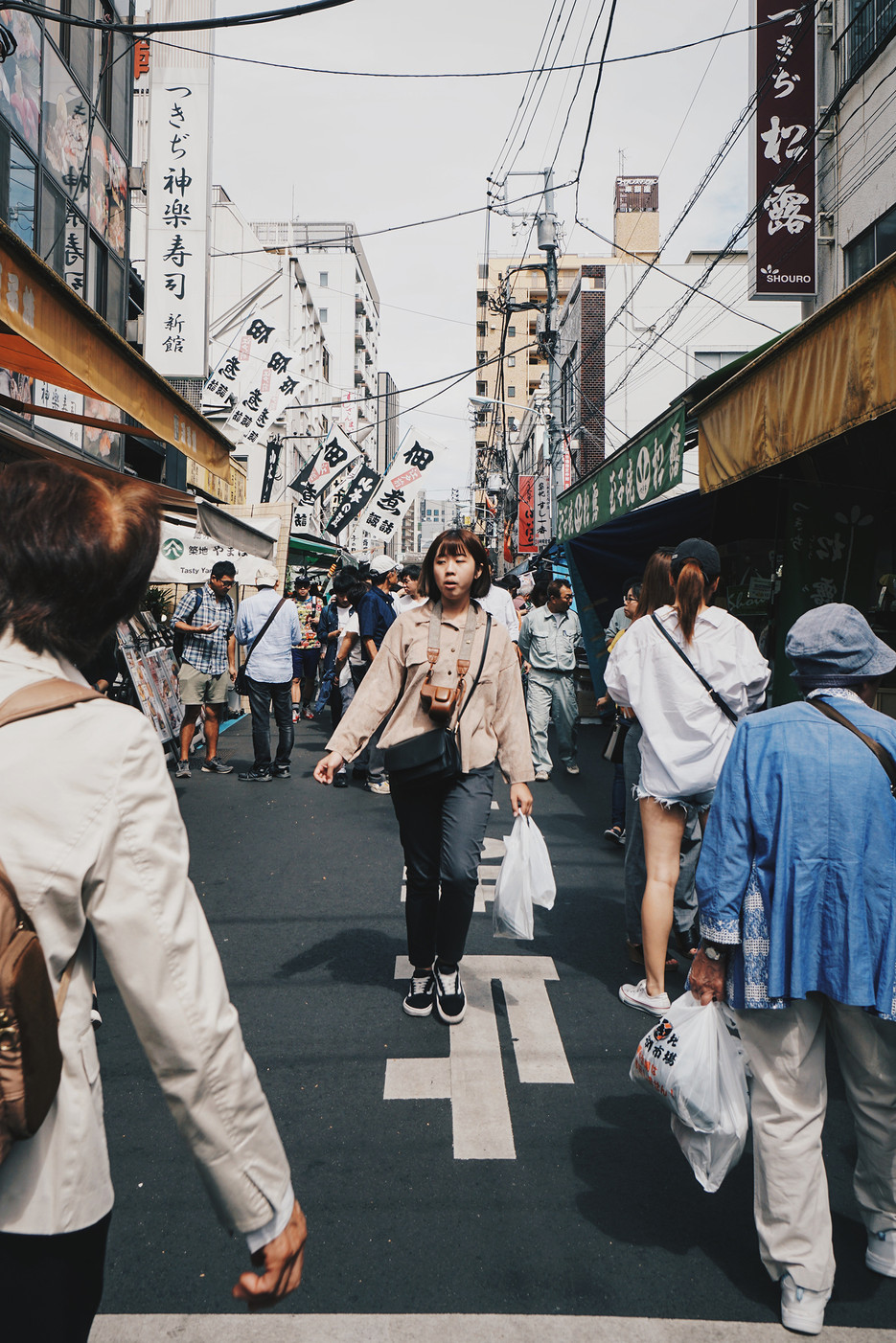 Street scene // Tsukiji Fish Market