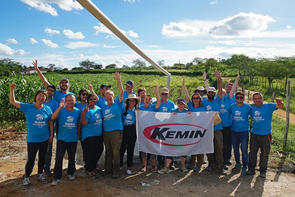 Kemin team in Brazil