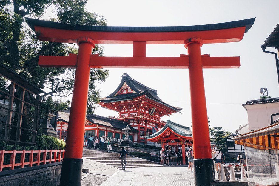 Entrance to Fushimi Inari Shrine