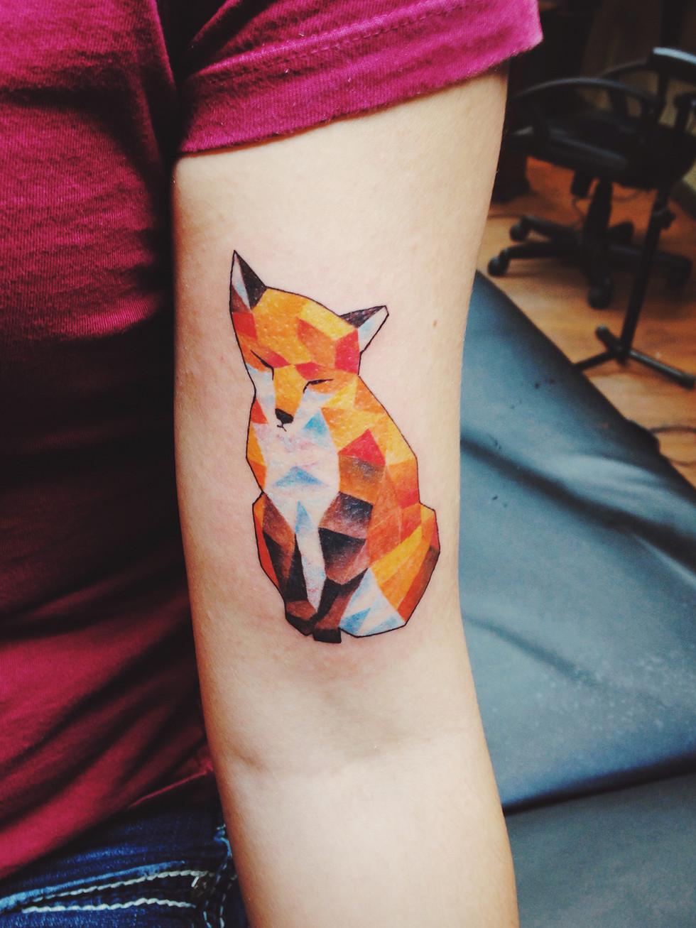 Fox Tattoo Final