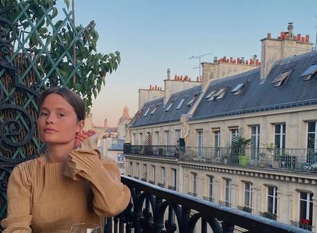 Från en drömig balkong i Paris - Agnes Gustafsson