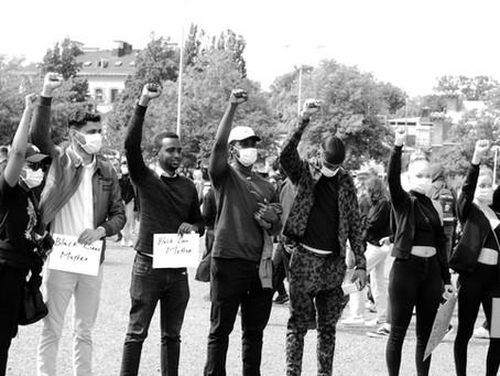 People who participated - #BlackLivesMatter